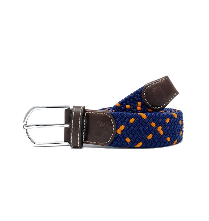 The Mirimar Two Toned Woven Elastic Stretch Belt
