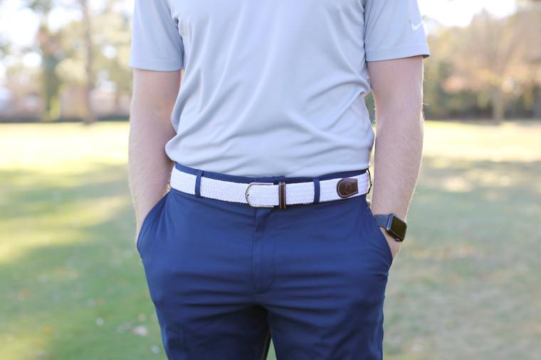 The Destin Woven Elastic Stretch Belt
