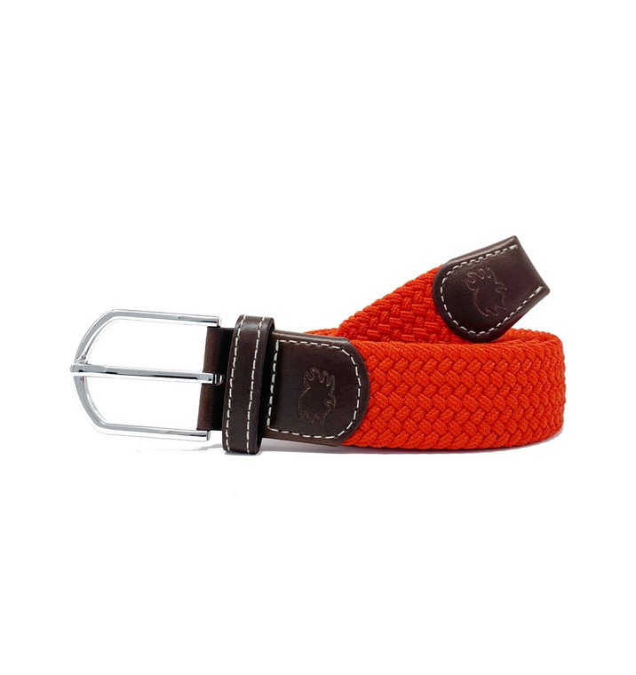 The Coral Gables Woven Elastic Stretch Belt