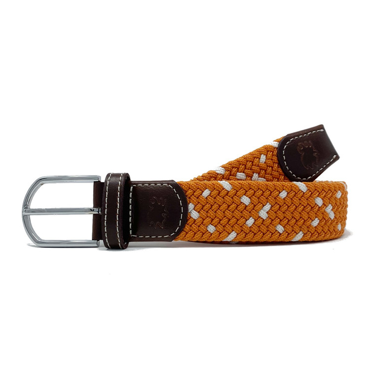 The Austin Two Toned Woven Elastic Stretch Belt