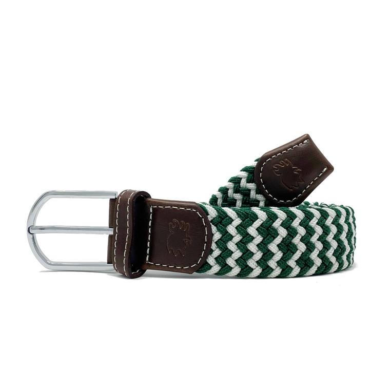 The La Jolla Two Toned Woven Elastic Stretch Belt