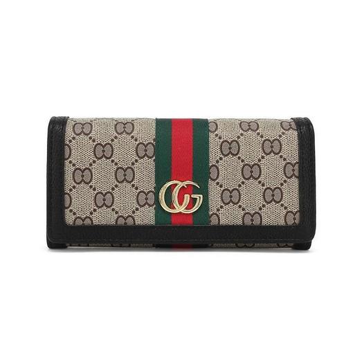 Ella Stripe Gucci Inspired Purse - Black