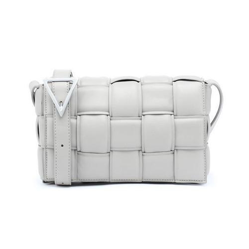 Cassie Designer Inspired Padded Cassette Bag - Grey