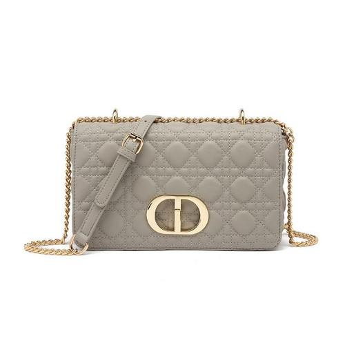 Ciara Designer Inspired Bag - Grey
