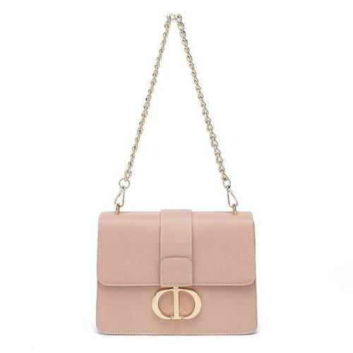 Naomi Designer Inspired Shoulder Bag - Pink