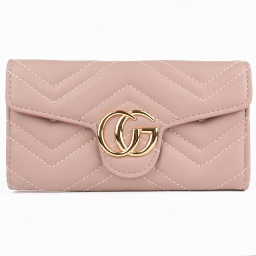 Venus Marmont Designer Inspired Purse - Pink