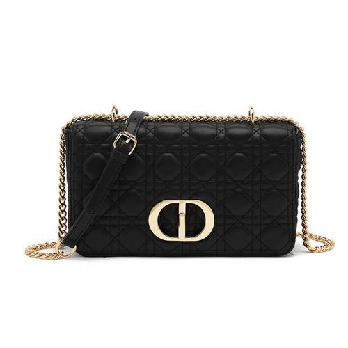 Ciara Designer Inspired Bag - Black