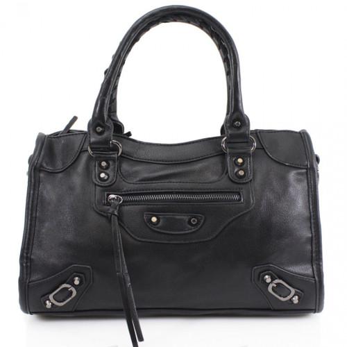 City Balenciaga Inspired Tote Bag - Black