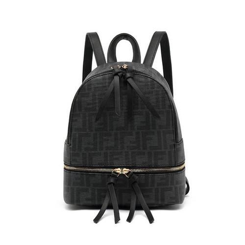 Franki Designer Inspired Backpack - Black