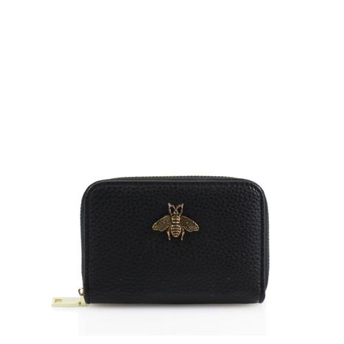 Carmen Bee Designer Inspired Card Holder - Black