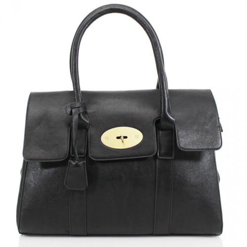 Kinley Designer Inspired Shoulder Bag - Black