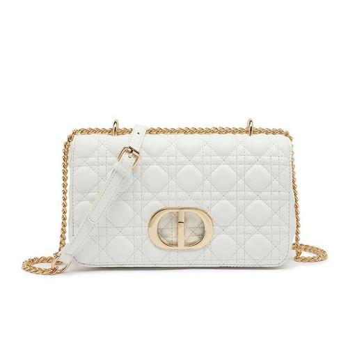 Ciara Designer Inspired Bag - White