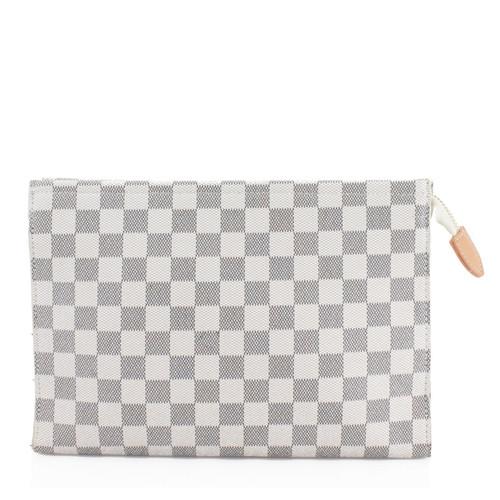 Rosie Designer Inspired Clutch Bag - White Check