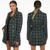 Diana Plaid Balmain Inspired Coat - Green