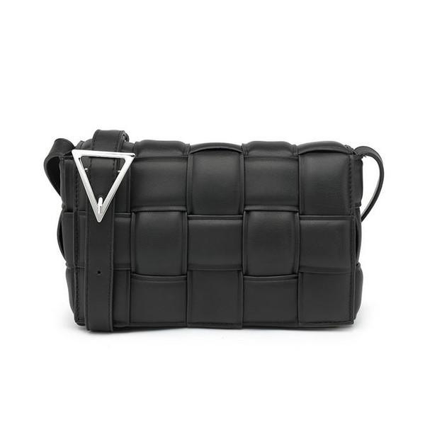 Cassie Designer Inspired Padded Cassette Bag - Black