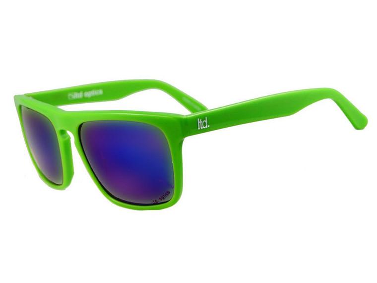 The Dean - 801Green - Stylish Italian Acetate Sunglasses