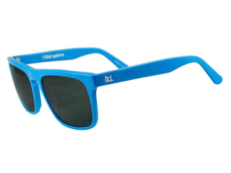 The Dean - Hyper Blue - Stylish Italian Acetate Sunglasses