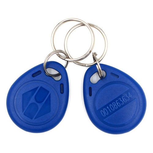 EM 125 KHz Fobs (Pack of 100 units)