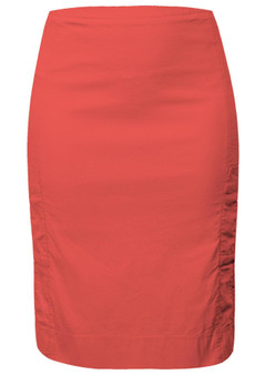 VERGE 4726 LACE LAYER SKIRT IN SCARLET