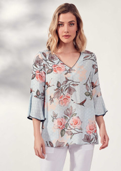 VERGE 5568 100% RAYON FAUNA TOP WAS $259.95 NOW