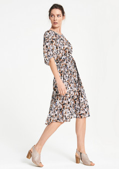 LAYER'D BRIS DRESS - VIRTA PRINT