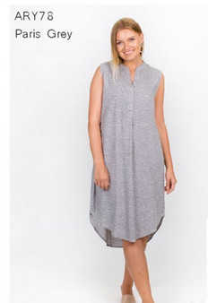 PARIS GREY DRESS