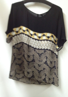 VERGE PEARL SILK TOP FRONT