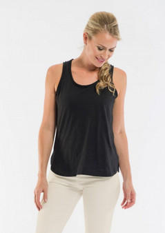 OR 11269 KNIT CAMI - BLACK