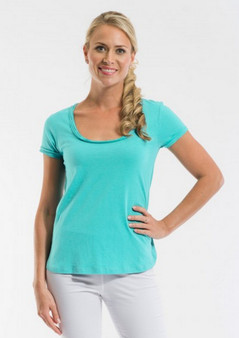 OR 11270 KNIT TEE - MINT