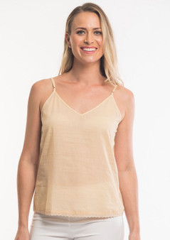OR 25023  COTTON CAMI SLIP