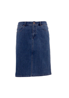CLM 166 JEANS SKIRT - DENIM