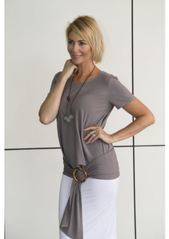 LOU LOU BAMBOO - Belt  - GREY