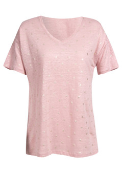 VERG FAN TOP IN PINK
