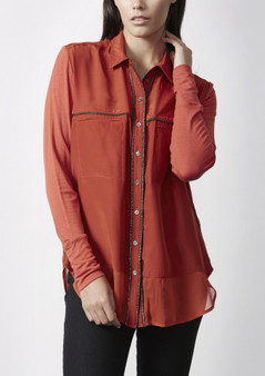 VERGE 2061 JASMINE SILK SHIRT WAS $279.95 NOW