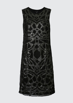 VERGE 3353 RITZ SEQUIN DRESS  size 10 - WAS $399 now