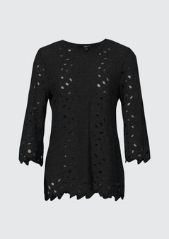 Verge 4165 Millie Lace Top - Black. WAS $249.95 NOW