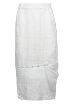 VERGE  6012 LEEWAY SKIRT  - off  WHITE WAS $249.95 NOW
