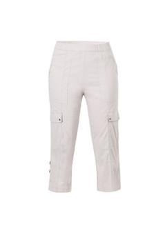 Verge Acrobat Cargo Shorts in PUMICE