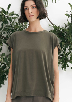 Layer'd RA Tee in KHAKI