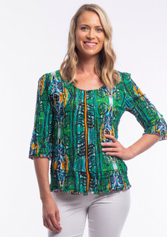 Cordoba 3/4 sleeve top