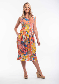 PAMPLONA PRINT DRESS
