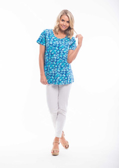 Orientique A-LINE Tee in Las Palmas Print