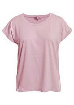 STRETCH COTTON TEE - CLM134 - PINK