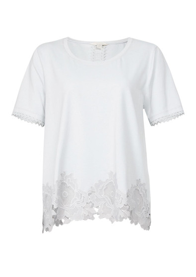 VERGE CLAIRE TOP IN WHITE