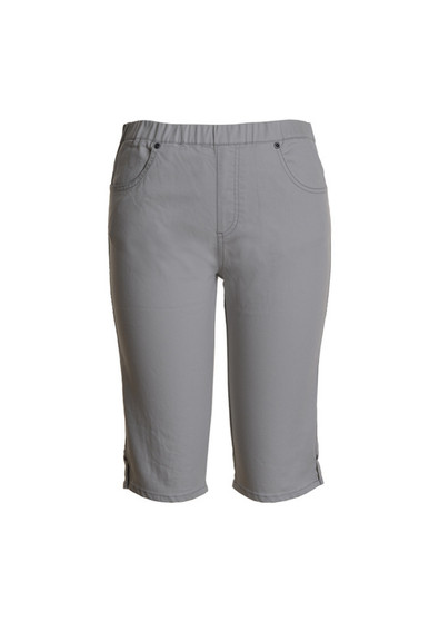 CAFE LATTE JEANS SHORTS - PUTTY