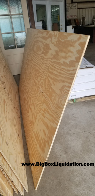 Plywood 15/32 in. x 4 ft. x 8 ft. BC Sanded Pine Plywood, Panel & Structural Grade PS1-09 PLYWOOD