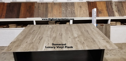 Somerset 7 in. WIDE x 48 in. LENGTH, LVT, 12 mil Wear Layer, Click Lock Install, Luxury Vinyl Plank Flooring  Installation Available, Pallet Shipping Available 615-800-1646