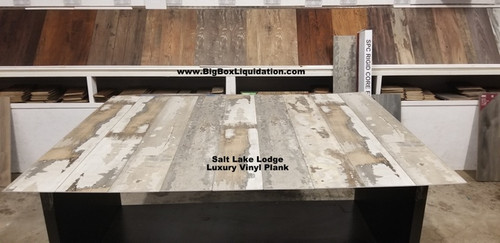 Salt Lake Lodge 7 in. WIDE x 48 in. LENGTH, LVT, 12 mil Wear Layer, Click Lock Install, Luxury Vinyl Plank Flooring  Installation Available, Pallet Shipping Available 615-800-1646