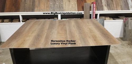 Horseshoe Harbor 7 in. WIDE x 48 in. LENGTH, LVT, 12 mil Wear Layer, Click Lock Install, Luxury Vinyl Plank Flooring  Installation Available, Pallet Shipping Available 615-800-1646