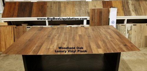Woodland Oak 7.17 in. WIDE x 48 in. LENGTH, 4.2mm THICK, Pad Attached, 12 mil Wear Layer, Click Lock Install, Rigid Core Luxury Vinyl Plank Flooring  Installation Available, Pallet Shipping Available 615-800-1646